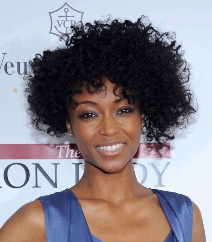 Natural Curly Hair Styles African Americans Curly Wavy