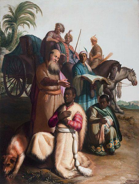 Ethiopian Eunuch - Rembrandt 1626