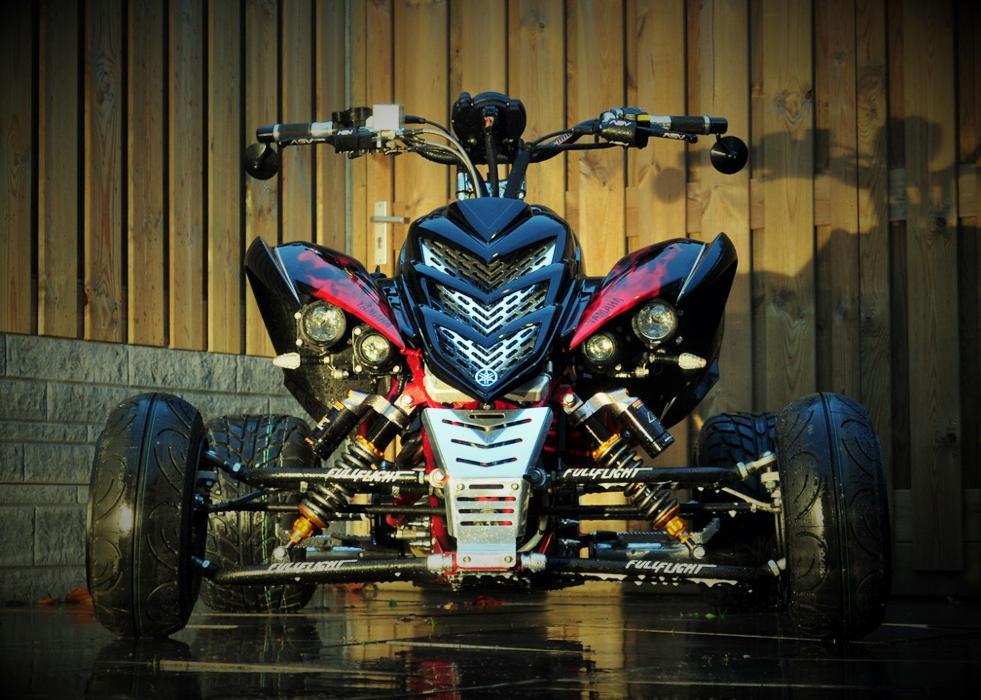 The World's First Street Legal Yamaha 700cc Raptor with On-Board