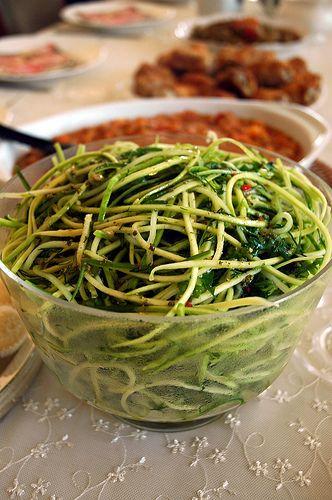 Çiğ Kabak Salatası – Yemek Zevki