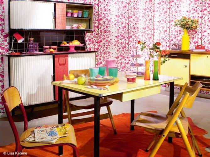 Cuisine S Mobilier S Pinterest Grands Retours Déco - Meuble cuisine formica pour idees de deco de cuisine