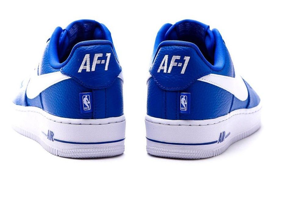 Nike Air Force 1 Low NBA Pack Blue 823511-405 c fb2e07abcd60