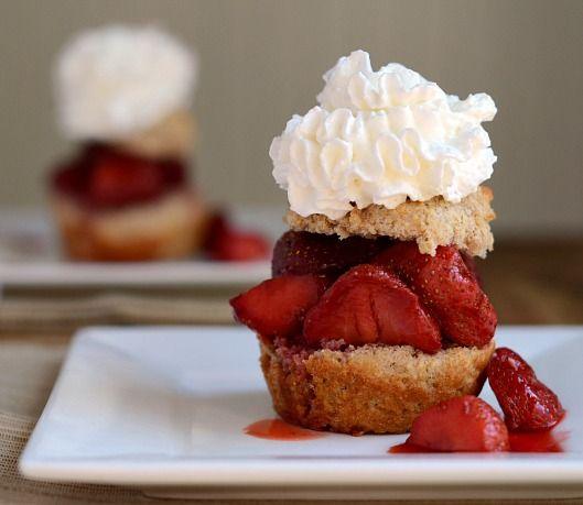 Roasted Strawberry Shortcake