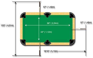 Pin By K I M T R A N On Chalet Pool Table Dimensions Pool