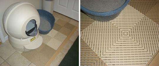 DIY Litter Mat Cat, Cat life and Veterinarians