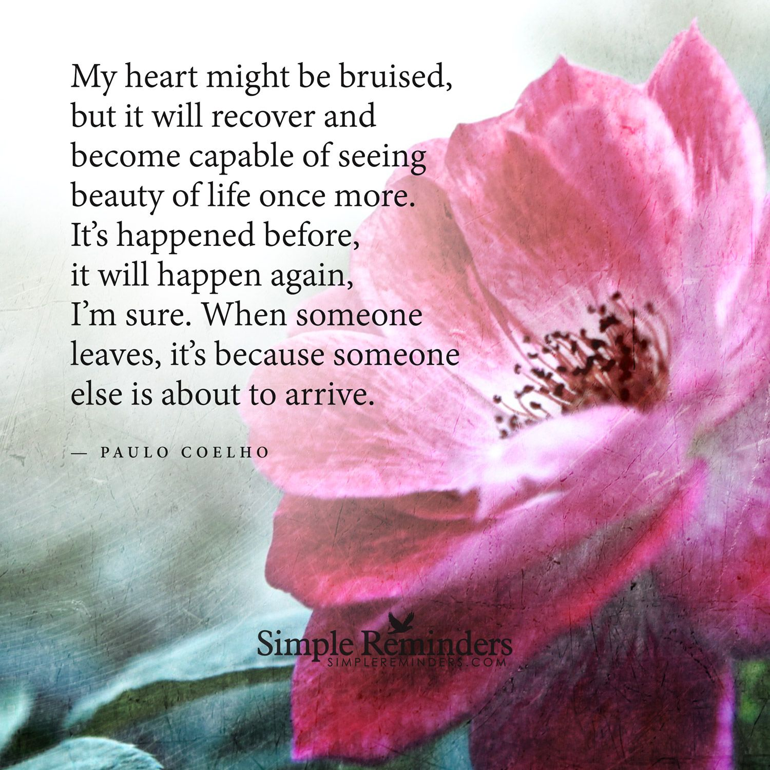 My heart might be bruised but it will recover and become capable of my heart might be bruised but it will recover and become capable of seeing beauty izmirmasajfo