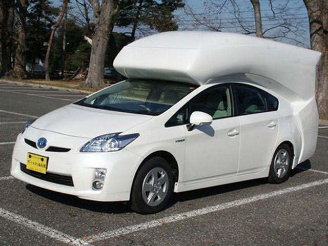 Hybrid Rv Conversions Toyota Prius Luxury Campers Car Camper