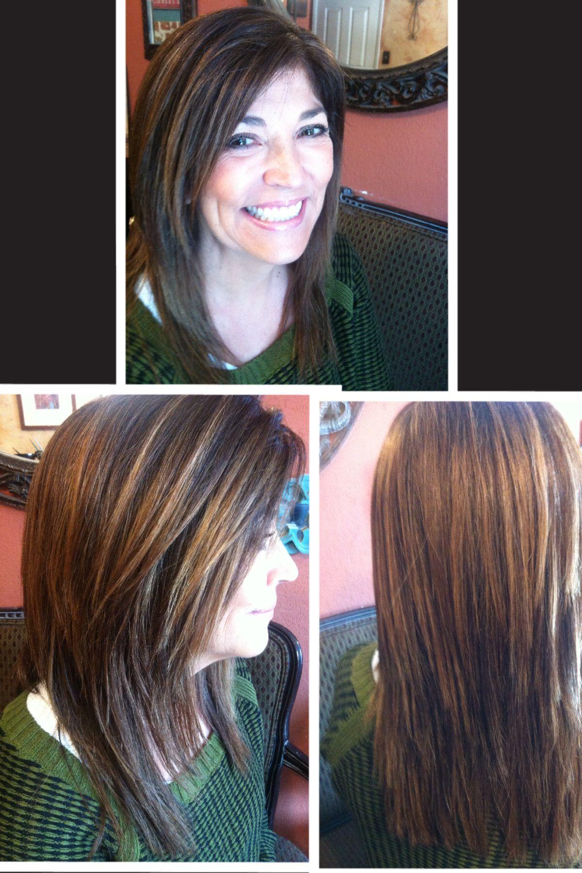 She Has 30grey Hair I Use Hla 7a And 5ng By Joico Vero Color