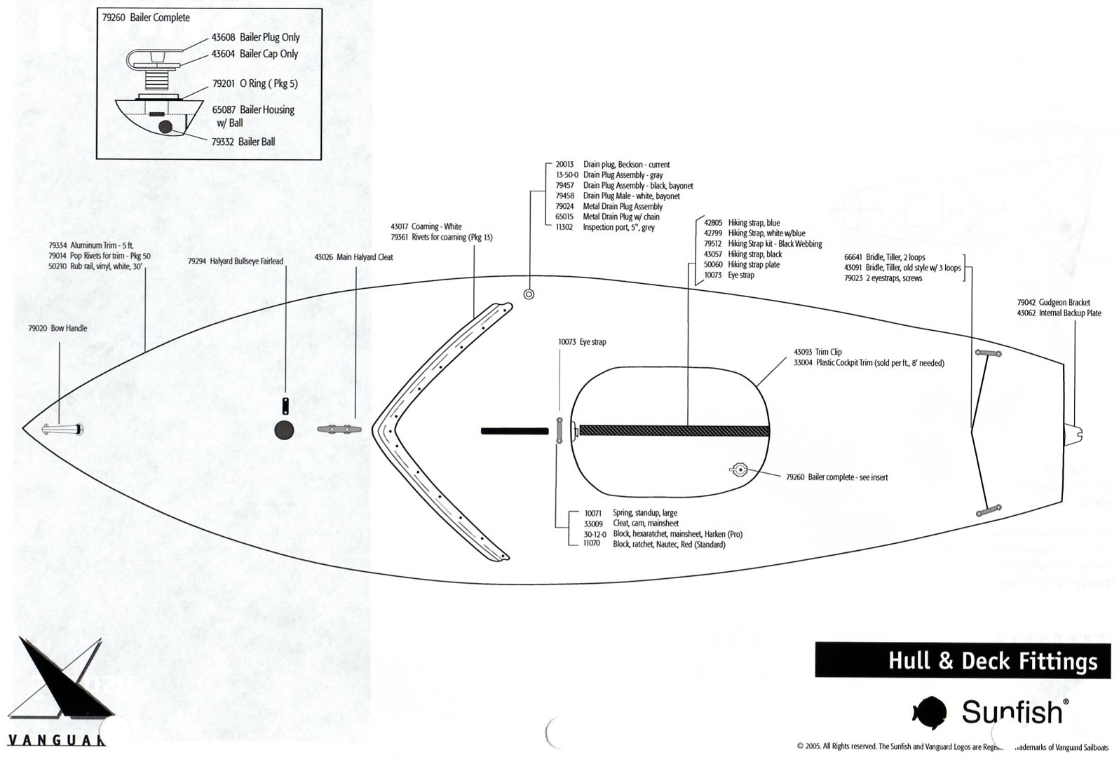 sunfish parts diagram | Sunfish in 2019 | Boat parts, Boat