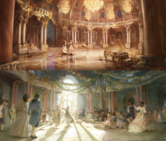 Concept Art For Beauty And The Beast 2017