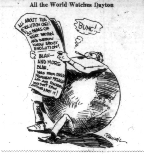 All The World Watches Dayton Scopes Trial 1925 Political