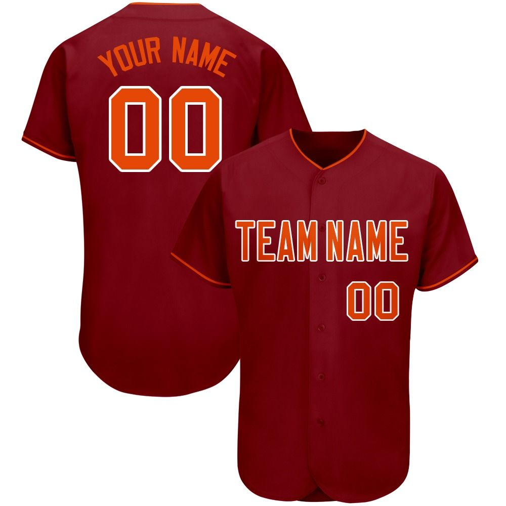 19 99 23 99 Custom Baseball Jersey Crimson Red Mesh Full Button With Team Your Name And Number In 2020 Custom Baseball Jersey Custom Jerseys Custom Baseballs