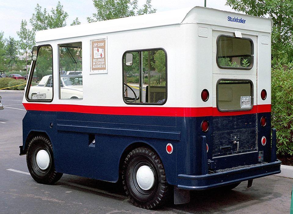1963 Postal Zip Van Studebaker Trucks Cool Trucks Studebaker
