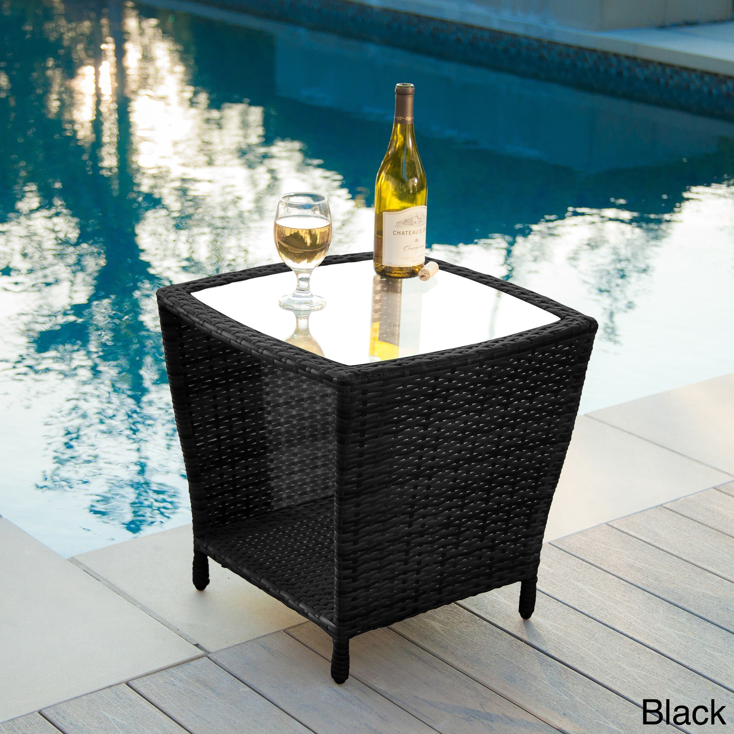 ip homes bistro outdoor and gardens patio set table top glass cove piece amelia com better walmart