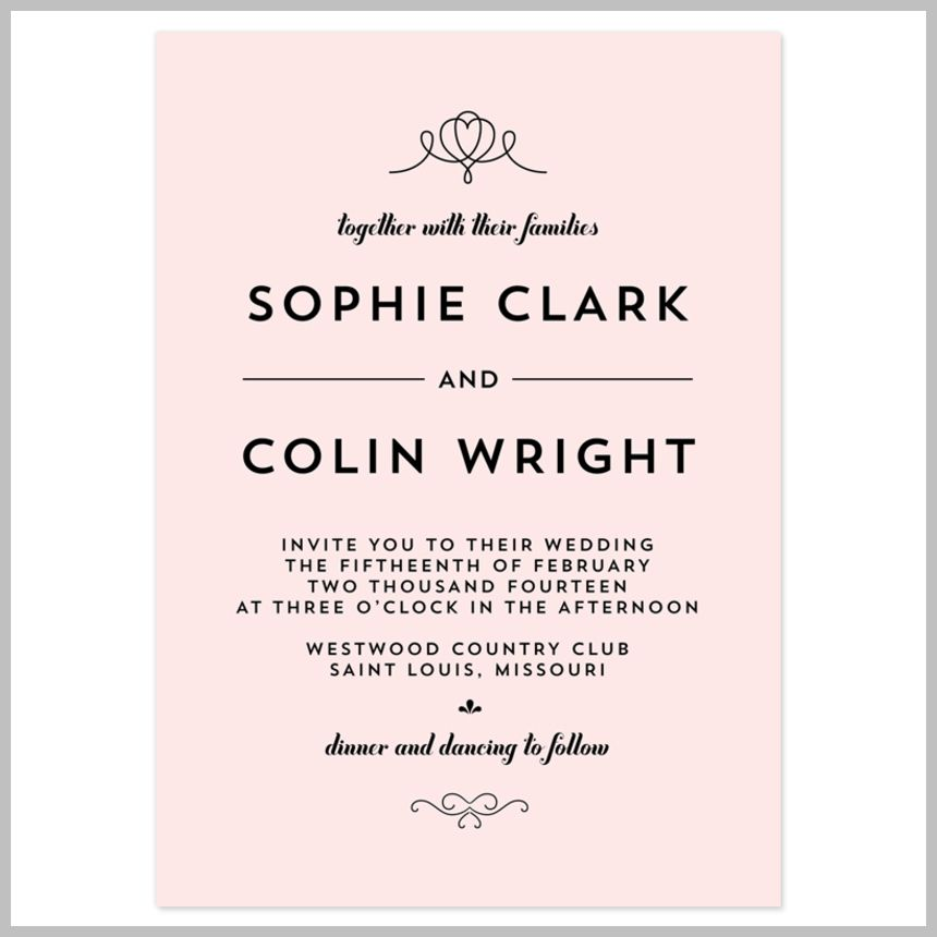 Wedding Invitation Wording Etiquette Make It Stylish And Memorable More Details Can Be Found By Clicking On The Image