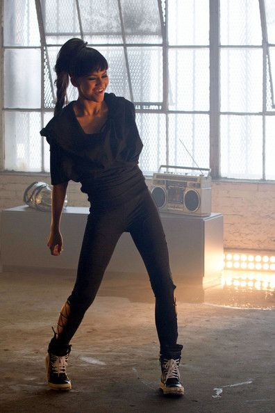 Zendaya Coleman - Zendaya dances on the set of her first music video 'Replay '