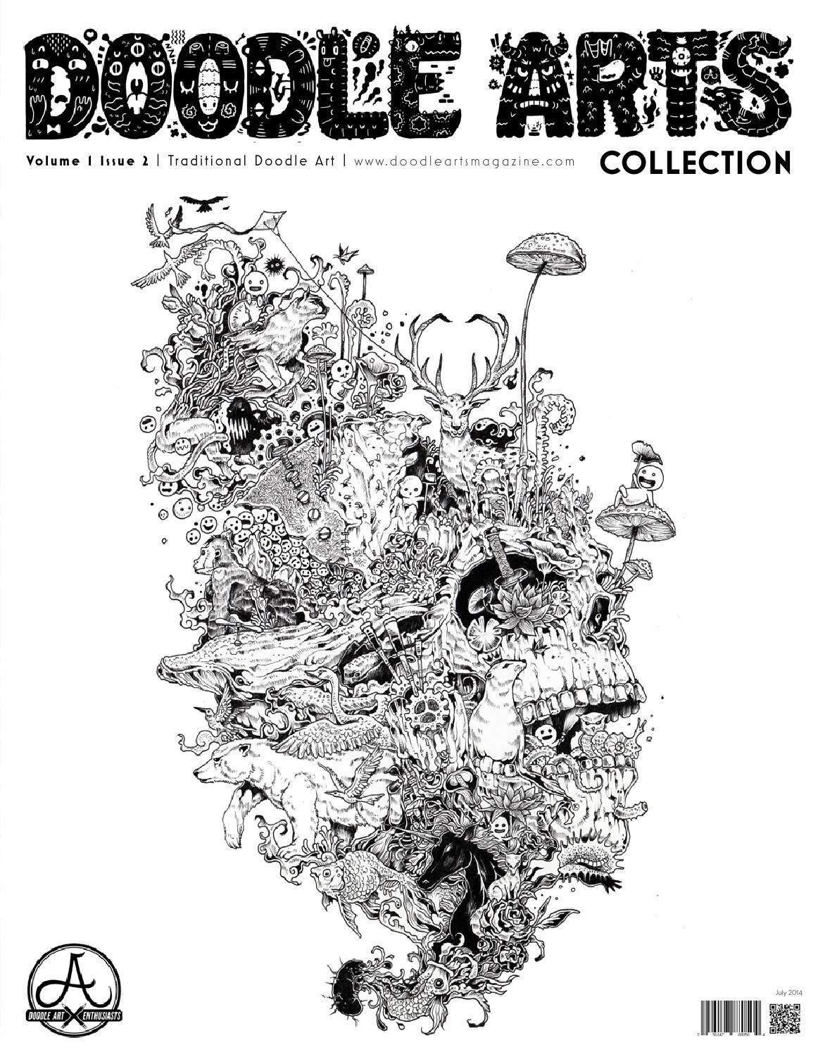 Doodle Arts Collection July 2014 #ClippedOnIssuu - Kerby Rosanes