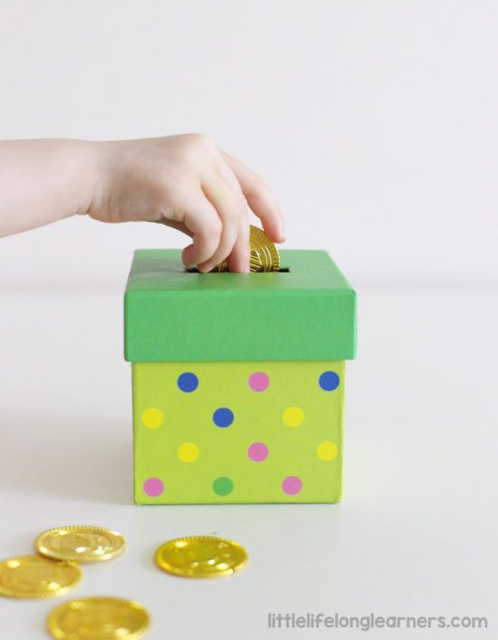 How To Make A Diy Coin Box For Toddlers Montessori Baby Toys