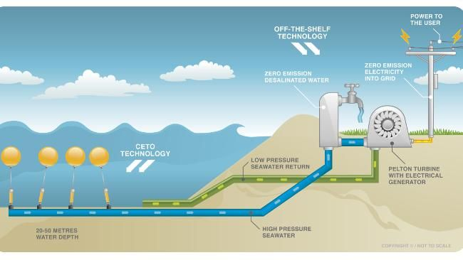 World First Wave Energy Project Switched On At Garden