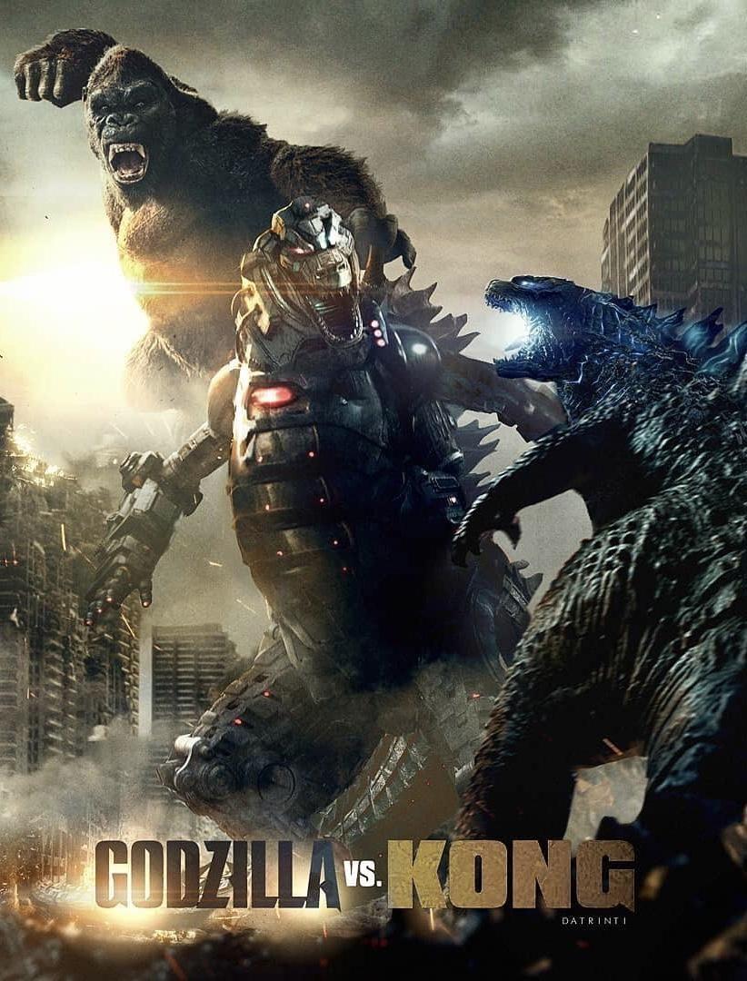 Godzilla vs Kong mechagodzilla fan poster | Godzilla vs. Kong