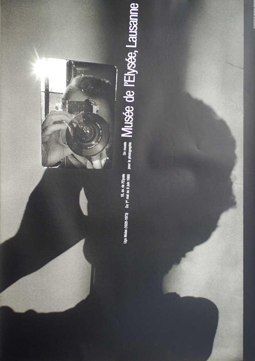 Werner Jeker, Ugo Mulas (Verifica 2 1970) Musée de l'Elysée Lausanne, 1986