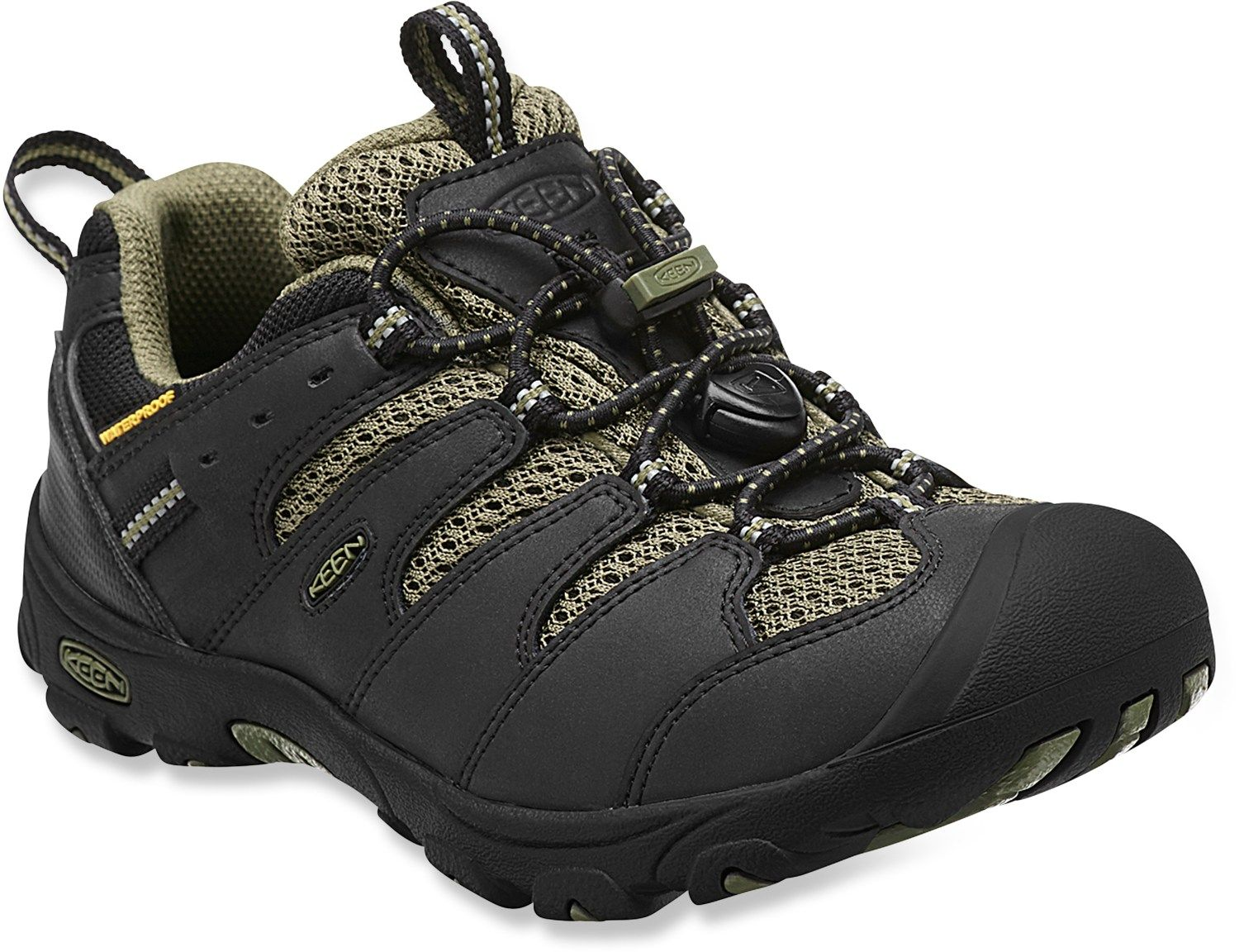 Keen Unisex Koven Low Waterproof Hiking Shoes - Kids'