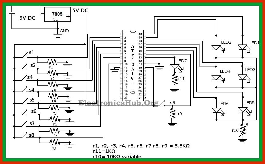 boolean algebra calculator circuit working and applications rh pinterest co uk circuit diagram resistance calculator circuit diagram of scientific calculator