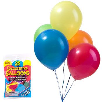 Dollar Tree Balloons And Party Supplies