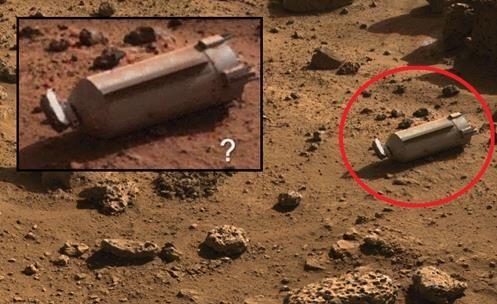 Peça Metálica Encontrada em Marte? NASA queremos ...