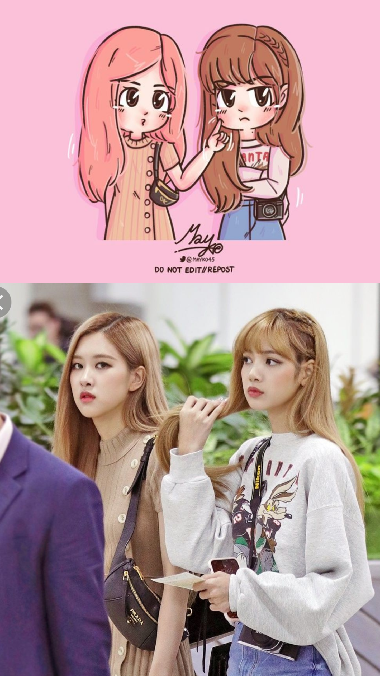 Chibi + Real Lisa and Rosé Gimpo airoot