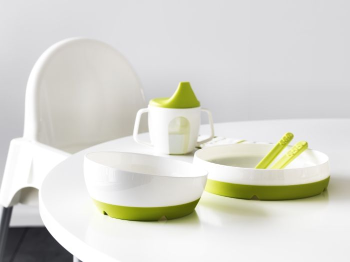 Children's tableware from IKEA is dishwasher safe, BPA