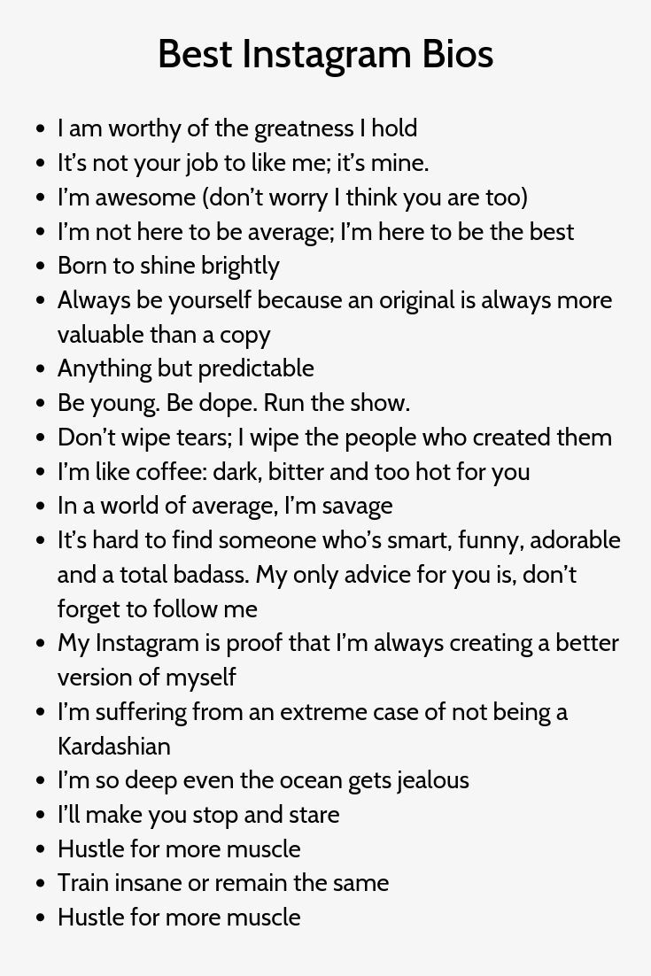 Best Instagram Bios 200 Bios For Ig And Facebook Profile Instagram Captions Clever Cute Quotes For Instagram Instagram Bio Quotes