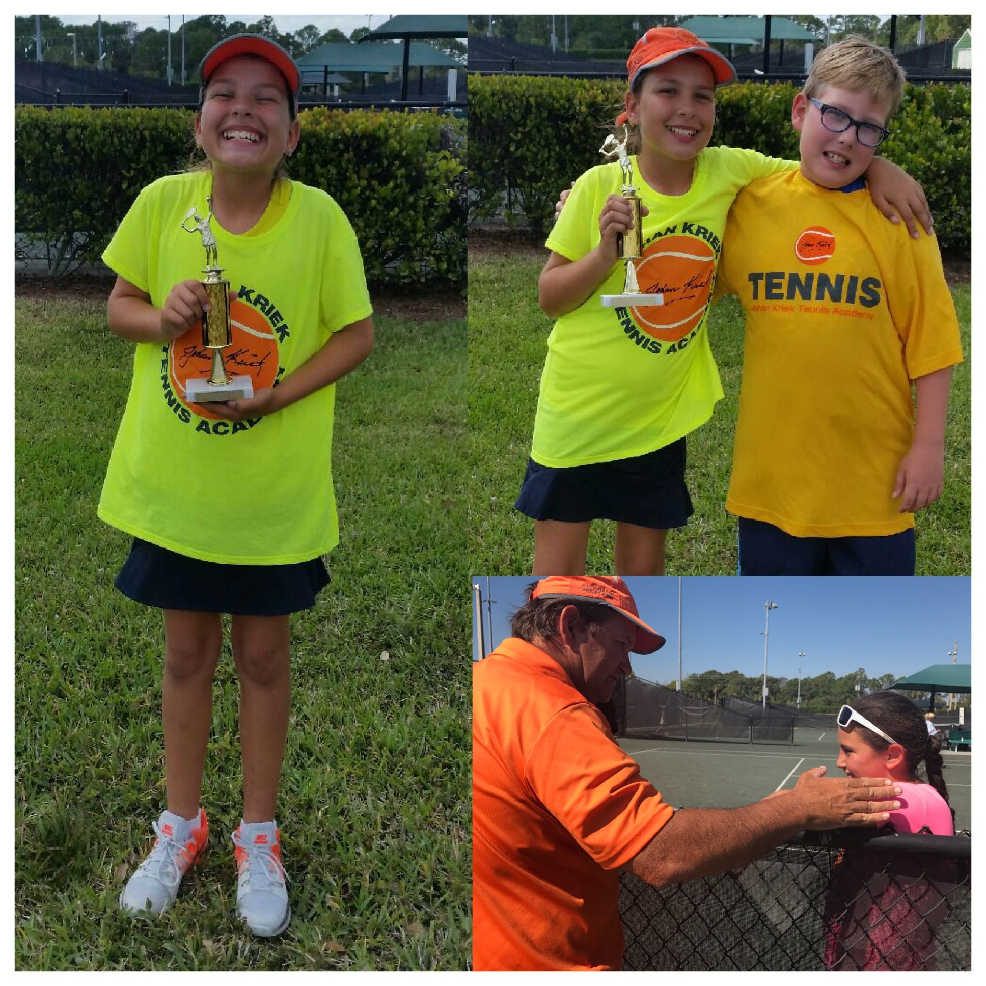 Congratulations to Isabella Aguiar for winning the girl\' 12 back ...