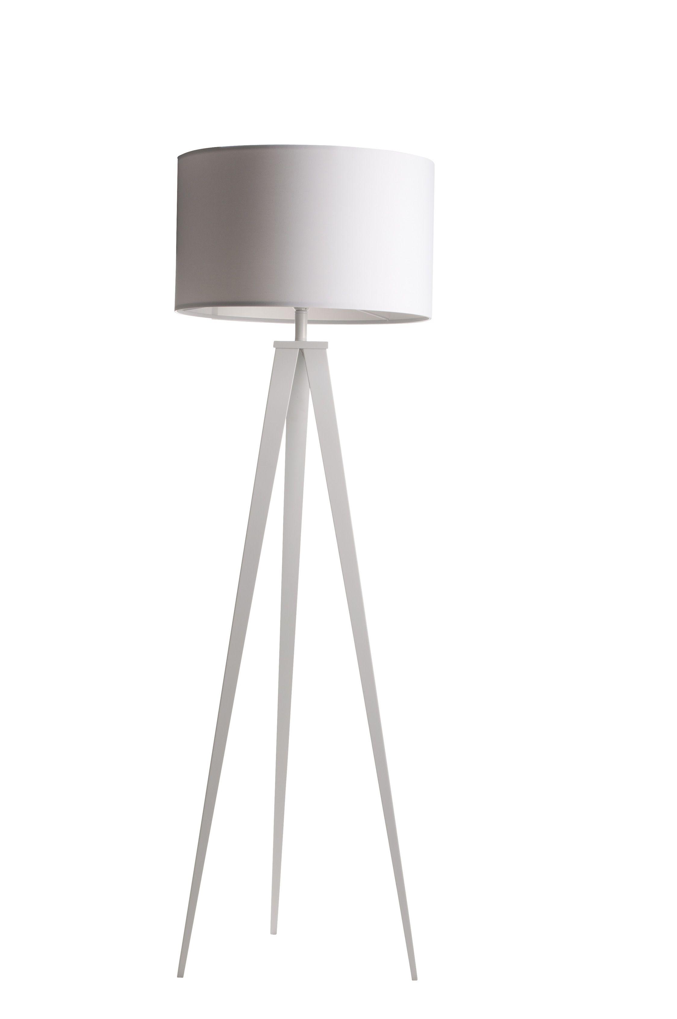 Zuiver Lampa Podlogowa Tripod White Another Design Lampa Podlogowa Lampy Lampa Na Biurko