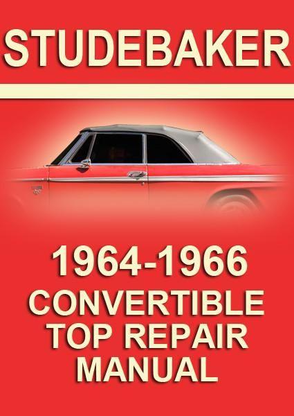 Pin On Studebaker Car Manuals Direct