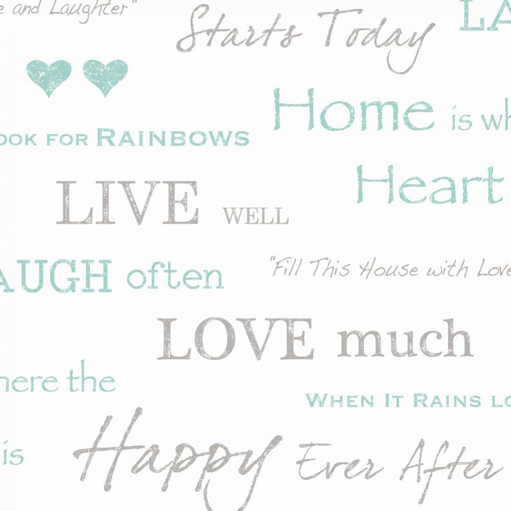 research.unir.net Wall Words Love Quotes Wallpaper by Fine Decor ...