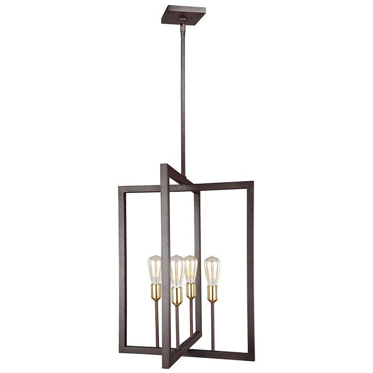 Finnegan fourlight chandelier in 2020 square chandelier