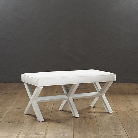 Double X Bench- CHOSE COLOR AND FABRIC | Versola | Pinterest ...
