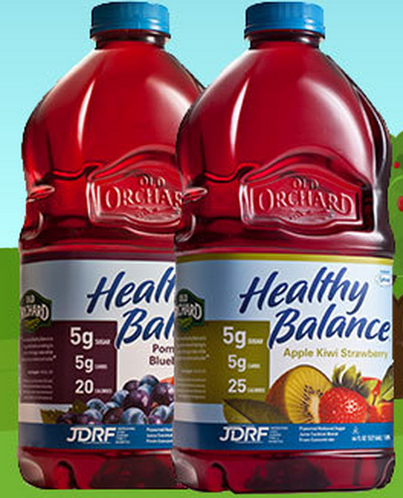 Buy One Get One FREE Old Orchard Healthy Balance Juice