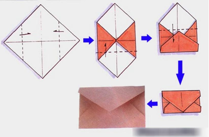 Как сделать из бумаги конверт, поликлиника порно фильм