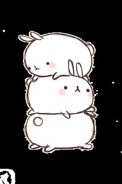 Cute Bunny Molang Dibujos Kawaii Dibujos Imagenes Kawaii
