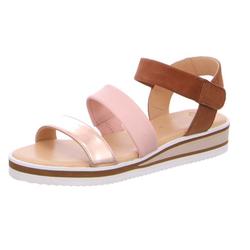 Schuhe24: Damen Ara Komfort Sandalen lila/pink DURBAN 40