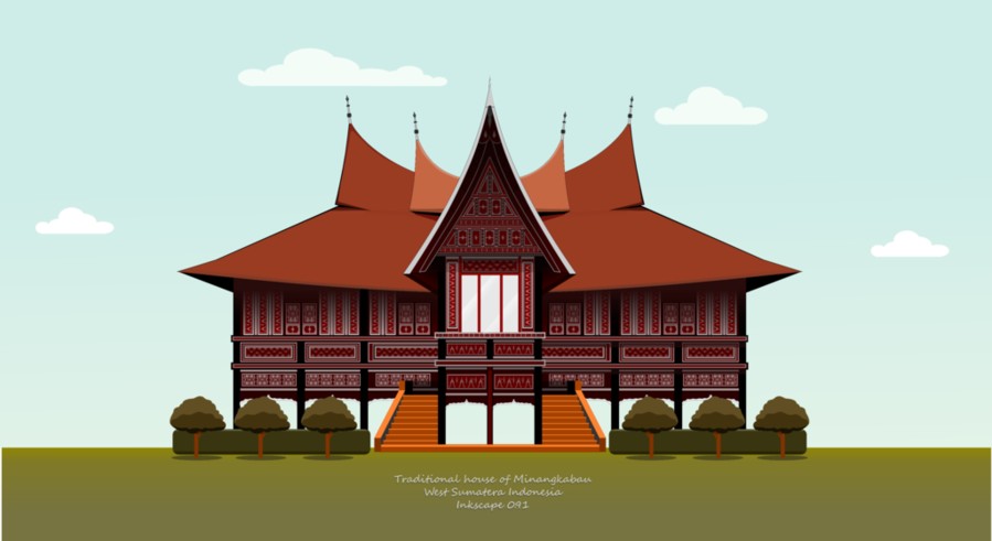 Wow 30 Gambar Kartun Rumah Adat Di Indonesia Sendiri Masih Banyak Rumah Yang Khas Sekali Dengan Adat Istiadat Yang Dimilikinya Sehingga B Di 2020 Kartun Gambar Rumah