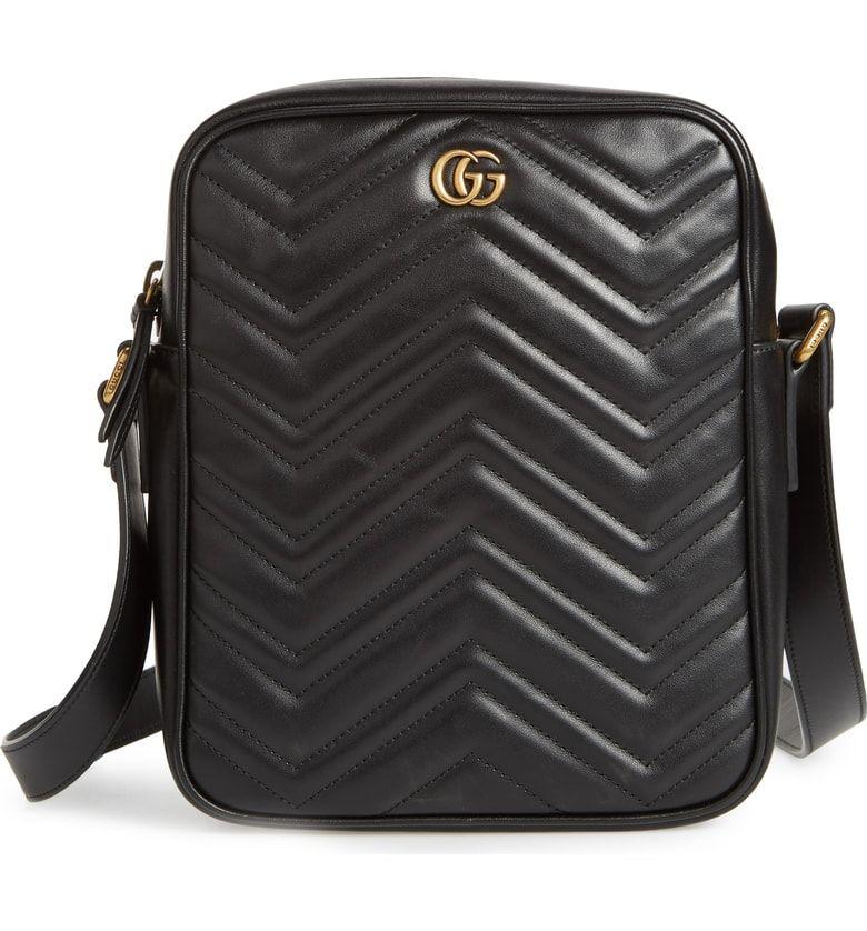 ec9f14240978 GG Marmont Matelassé Leather Travel Bag, Main, color, BLACK   !LOVE ...