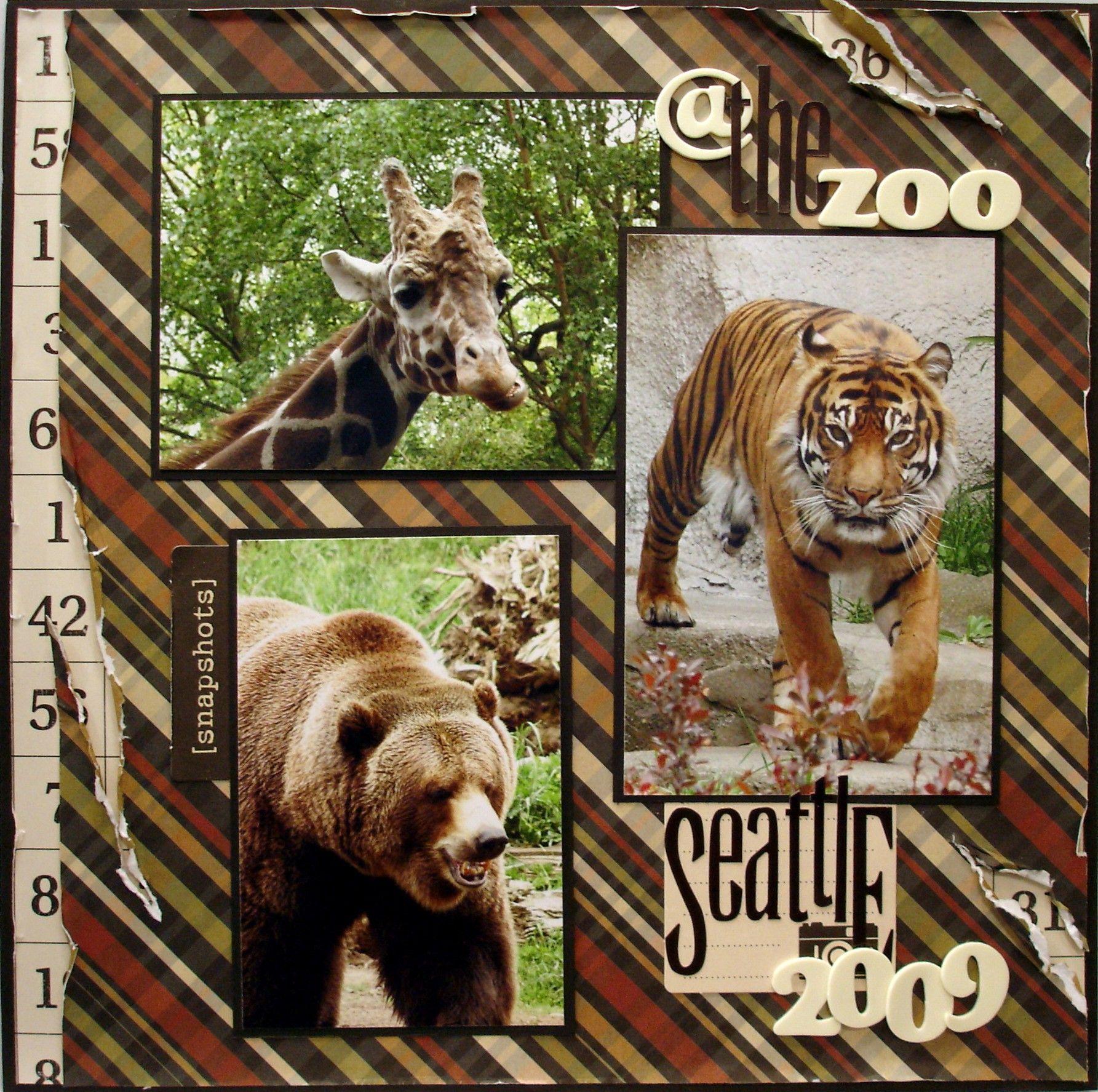 Scrapbook ideas zoo - The Zoo Scrapbook Com