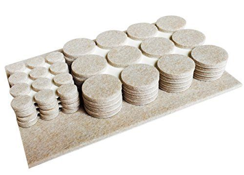 Best Furniture Pads 96 Adhesive Felt Table Chair Leg Protect Tile Vinyl