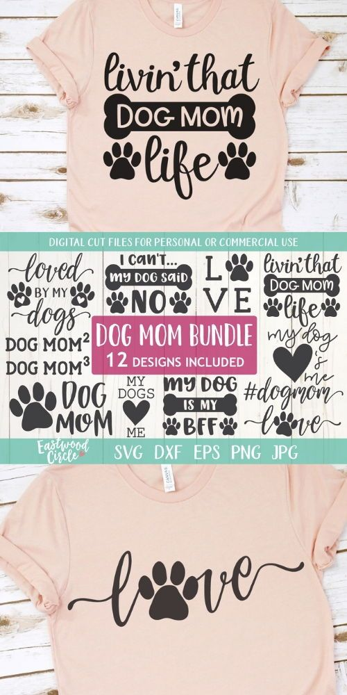 Dog Mom svg Bundle, Dog Mom svg, Dog svg, Dog svg Bundle, Dog svg Files, Dog Shirt svg, Dog Lover svg, Dog svg Files for Cricut, dxf, png