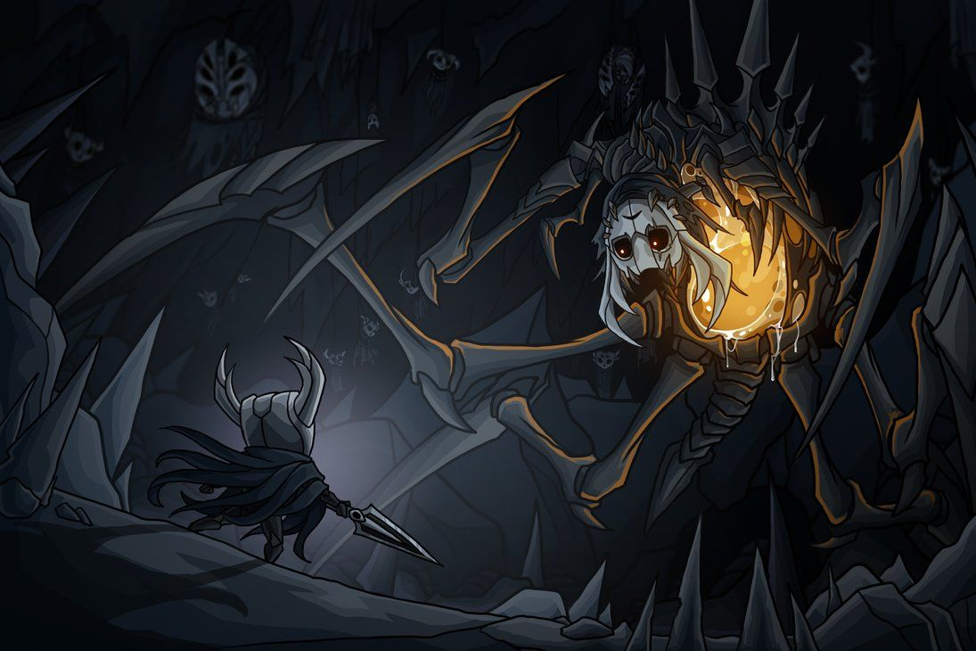 Hollow Knight Nosk by on