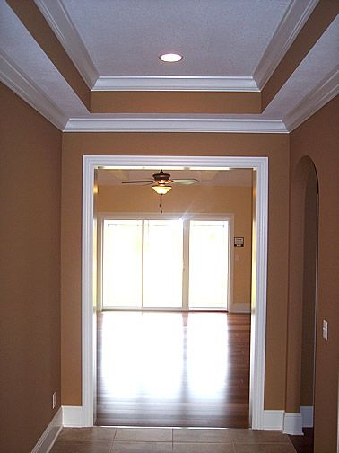 Crown Molding With Tray Ceiling House Styles New Homes Home