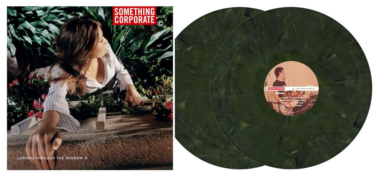 2nd Pressing Of Something Corporate Leaving Through The Window
